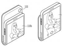 Samsung придумала смартфон-раскладушку с гибким экраном «наизнанку»