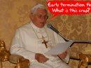 Папа римский вербует католиков при помощи SMS