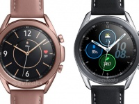 Три версии Samsung Galaxy Watch 3 во плоти