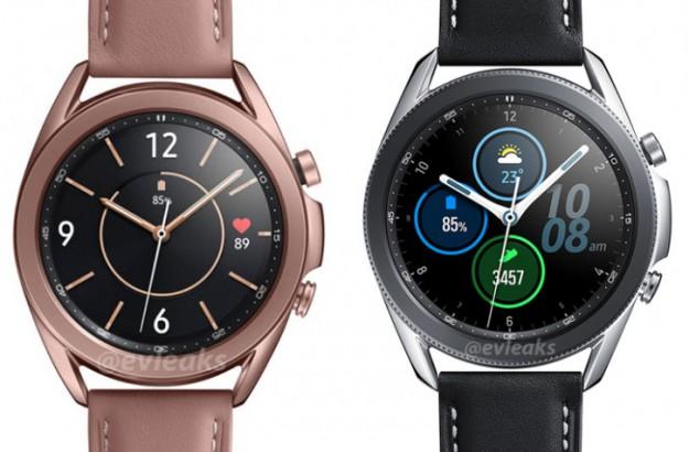 Три версии Samsung Galaxy Watch 3 во плоти