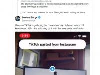 Наглый шпионаж: Apple застала TikTok и другие приложения врасплох