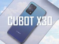 Смартфон Cubot X30 - мировая премьера и старт продаж. Анонс на видео!