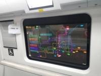LG начала устанавливать прозрачные OLED-экраны вместо окон в вагонах китайского метро