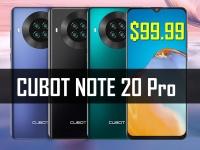 WOW! Бюджетно, но солидно! Смартфон Cubot Note 20 Pro от $99.99