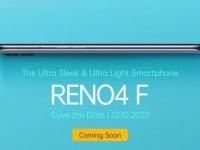 OPPO представит смартфон Reno4 F с шестью камерами 12 октября