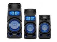 Компания Sony объявляет о старте продаж своих новых аудиосистем в Украине: MHC-V73D, MHC-V43D, MHC-V13