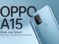 Смартфон OPPO A15 получил 6,52
