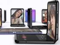 Выход смартфона-раскладушки Samsung Galaxy Z Flip 2 с гибким экраном ожидается весной