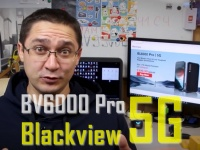 Анонс Blackview BL6000 Pro - первый 5G смартфон. Полная защита + ТОП камера