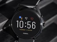 Fossil представила смарт-часы Gen 5 LTE, основанные на старом чипе Snapdragon Wear 3100
