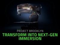 Razer показала концепт игровой кабины, оснащённой 60-дюймовым сворачивающимся OLED-дисплеем