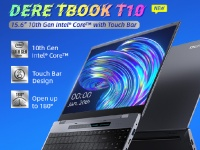 Товар дня: Ноутбук DERE TBOOK T10 – процессор intel 10-го поколения и цена от $499 за изящный корпус