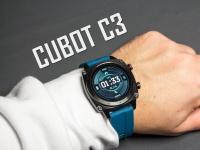 Большие и умные! Смарт часы Cubot C3 - видео обзор