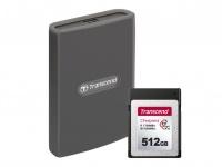Transcend представляет кард-ридер RDE2 CFexpress Type B и новую карту памяти CFexpress 820 Type B