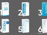 Realme предложила выбрать дизайн коробки нового игрового Narzo 30
