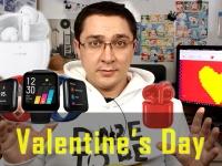 Выбираем подарок к Дню Святого Валентина! 8 смартфонов от $100 + наушники и смарт-часы