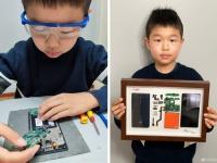 9-летний мальчик удивил главу Xiaomi: он превратил оригинальный Redmi в произведение искусства
