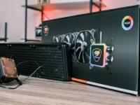 Видео обзор Cougar AQUA 360 - жидкостное охлаждение для процессоров Intel и AMD с RGB подсветкой
