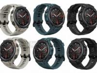 Выяснились характеристики и внешний вид смарт-часов Amazfit T-Rex Pro