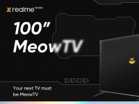 Realme интригует 100-дюймовым «телемяувизором»