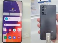 Смартфон Samsung Galaxy Quantum2 предстал на «живых» фотографиях