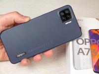 Очень тонкий смартфон - 7,5 мм! Видео обзор OPPO A73