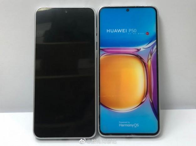 Качественные макеты Huawei P50 показались на живых фото