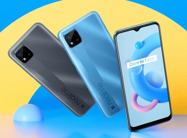 Вышел бюджетный смартфон Realme C20A с чипом Helio G35 и 6,5 экраном HD+