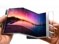 Samsung показала гибкий S-образный экран и 17-дюймовый складной дисплей
