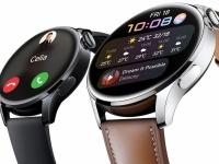 Huawei представила Watch 3 — первые смарт-часы на базе фирменной HarmonyOS