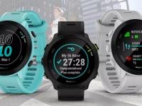 Garmin представила беговые часы Forerunner 55 для новичков