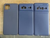 Google Pixel 6 и Pixel 6 Pro сравнили в размерах с Pixel 4 XL