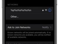 Баг iOS нарушает работу Wi-Fi в iPhone из-за пары простых символов
