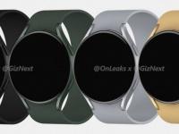 Galaxy Watch Active 4: рендеры первых общих часов Google и Samsung