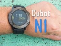 Мужские смарт-часы Cubot N1 - металл, пластик и хороший ремешок. Видео обзор!