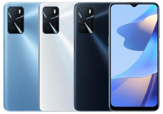 Представлен доступный смартфон OPPO A16 с экраном HD+ и батареей на 5000 мА·ч