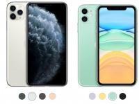 Сравнения iPhone 11 Pro Max / iPhone 11 Pro / iPhone 11