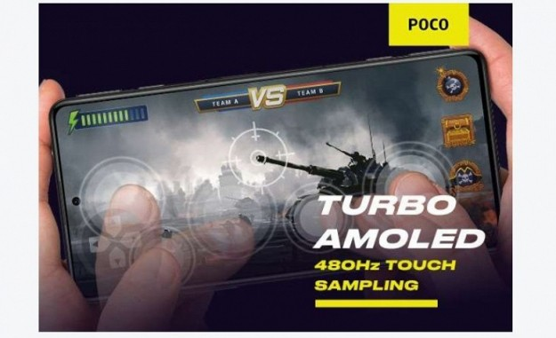 Экран AMOLED, 120/480 Гц, 5000 мАч, 64 Мп, стереодинамики и MIUI 12.5. Poco F3 GT ориентирован на геймеров