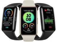 В Китае стартуют продажи фитнес-браслета Huawei Band 6 Pro