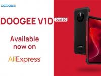 Защищенный смартфон DOOGEE V10 5G поступает в продажу на Aliexpress по цене всего $199,99
