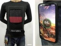 Китайские учёные создали текстильный аккумулятор — из него можно делать одежду, от которой сможет заряжаться смартфон