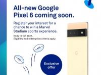 Австралийский оператор слил дату анонса Google Pixel 6 и Pixel 6 Pro