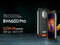 Blackview BV6600 Pro - самый доступный в мире защищенный смартфон с тепловизором
