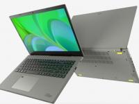 Acer выпустила ноутбук Aspire Vero в корпусе из переработанного пластика