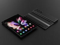 Так может выглядеть смартфон Samsung Galaxy Z Fold Note. Модель создана на основе патентов компании