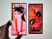 Google Pixel 6 выглядит бюджетным смартфоном по сравнению с Samsung Galaxy Note20 Ultra: всё дело в огромным рамках