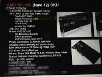 Из MacBook Pro 16 прямиком к майнерам. AMD создала видеокарту BC-160 на уникальном GPU Navi 12 специально для майнинга