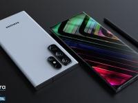Samsung Galaxy S22 Ultra с новой формой корпуса, местом для S Pen и двумя вариантами камеры показали на качественных рендерах и в видеоролике