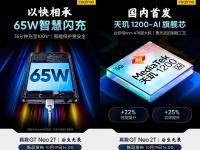 Realme GT Neo 2T получит 12 ГБ ОЗУ и 65-ваттную зарядку