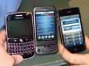 Живые фотографии коммуникатора T-Mobile G1 и его недостатки